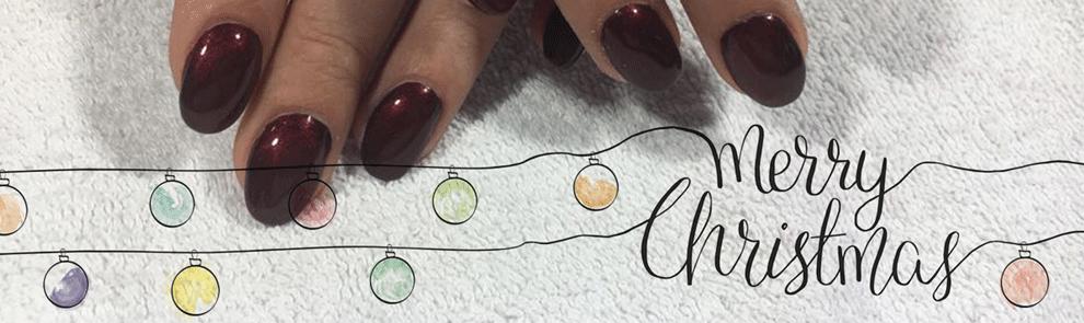 Frohe Weihnachten wünscht Enjoy your nails